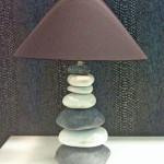 lampa z kamenov