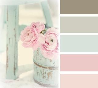 Shabby Chic Color Scheme