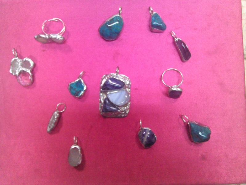 Kurz výroby šperkov technikou TIFFANY - Po čom túžia ženy af67326b8da