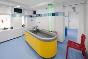 Vana pro uhličitou koupel v podobě loďky 2