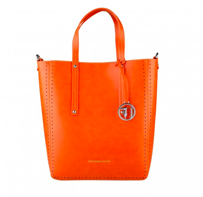 luxusna-kabelka-Trussardi-oranžová ccf4135d438
