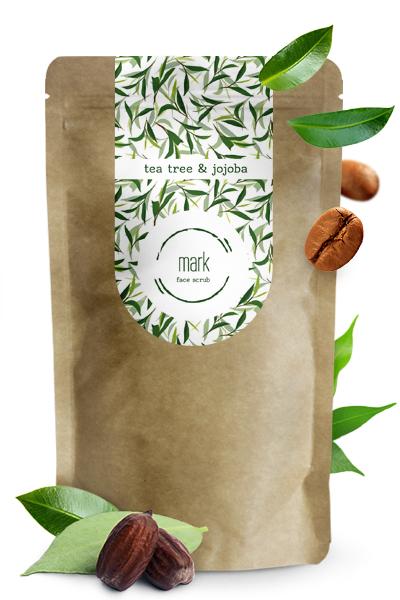 MARK-crub-prirodny-kavovy-peeling-tea tree&jojoba