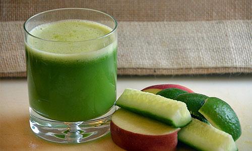 nápoj na chudnutie z uhoriek
