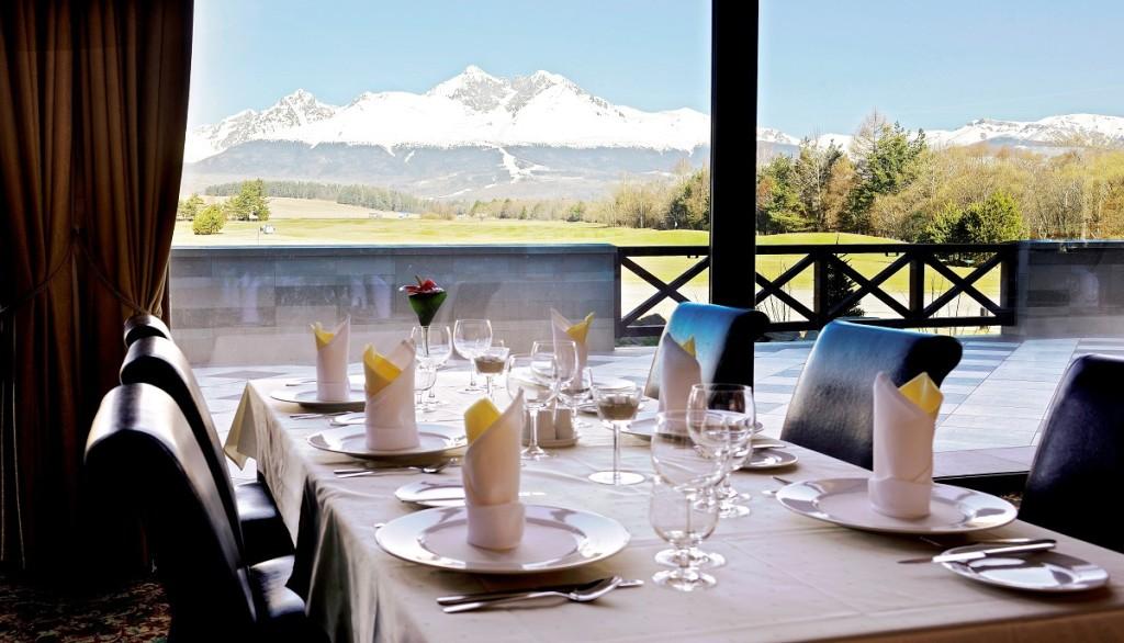 Golf rezort Black Stork -reštaurácia-hotela International – kópia